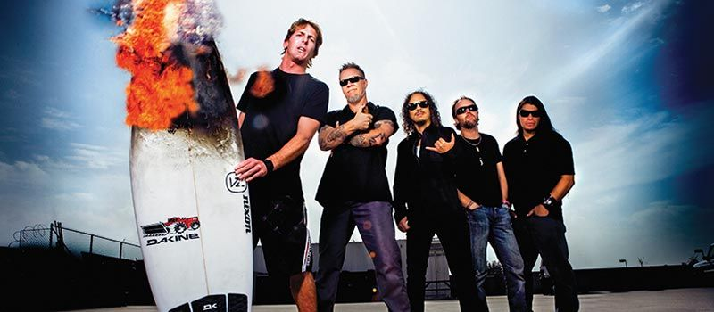 Andy Irons & Metallica