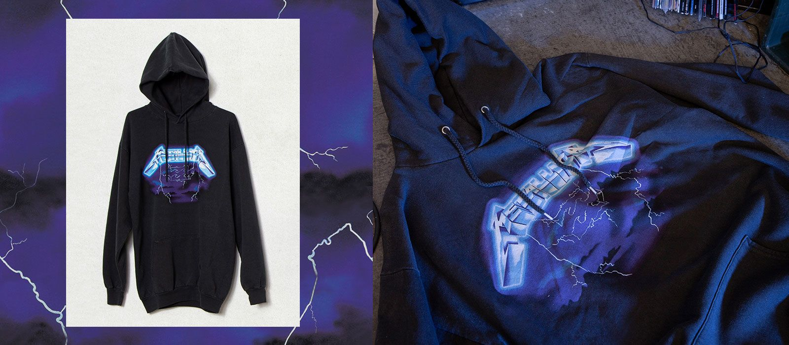 Ride the Lightning<br>Fleece