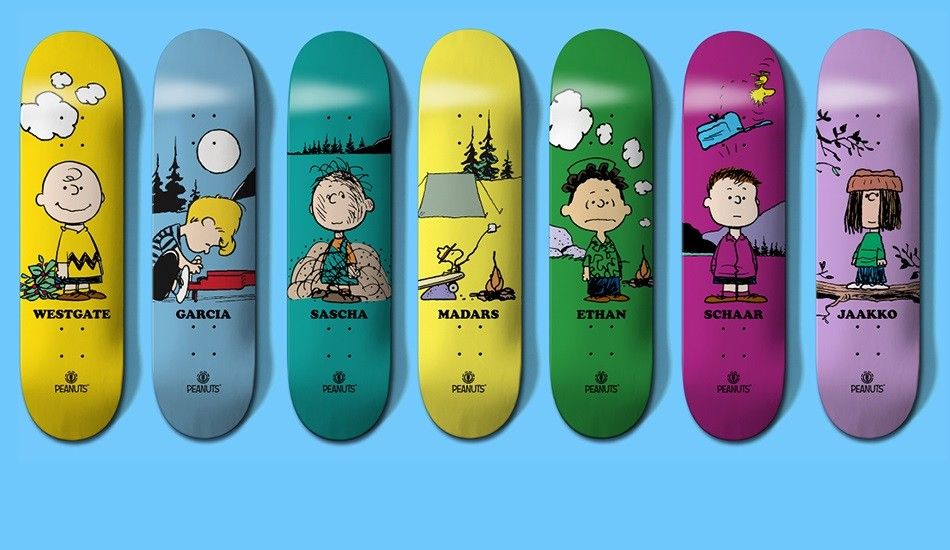 Peanuts Element Pro Model Skate Decks