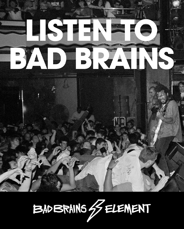 <center>BAD BRAINS x ELEMENT</center>