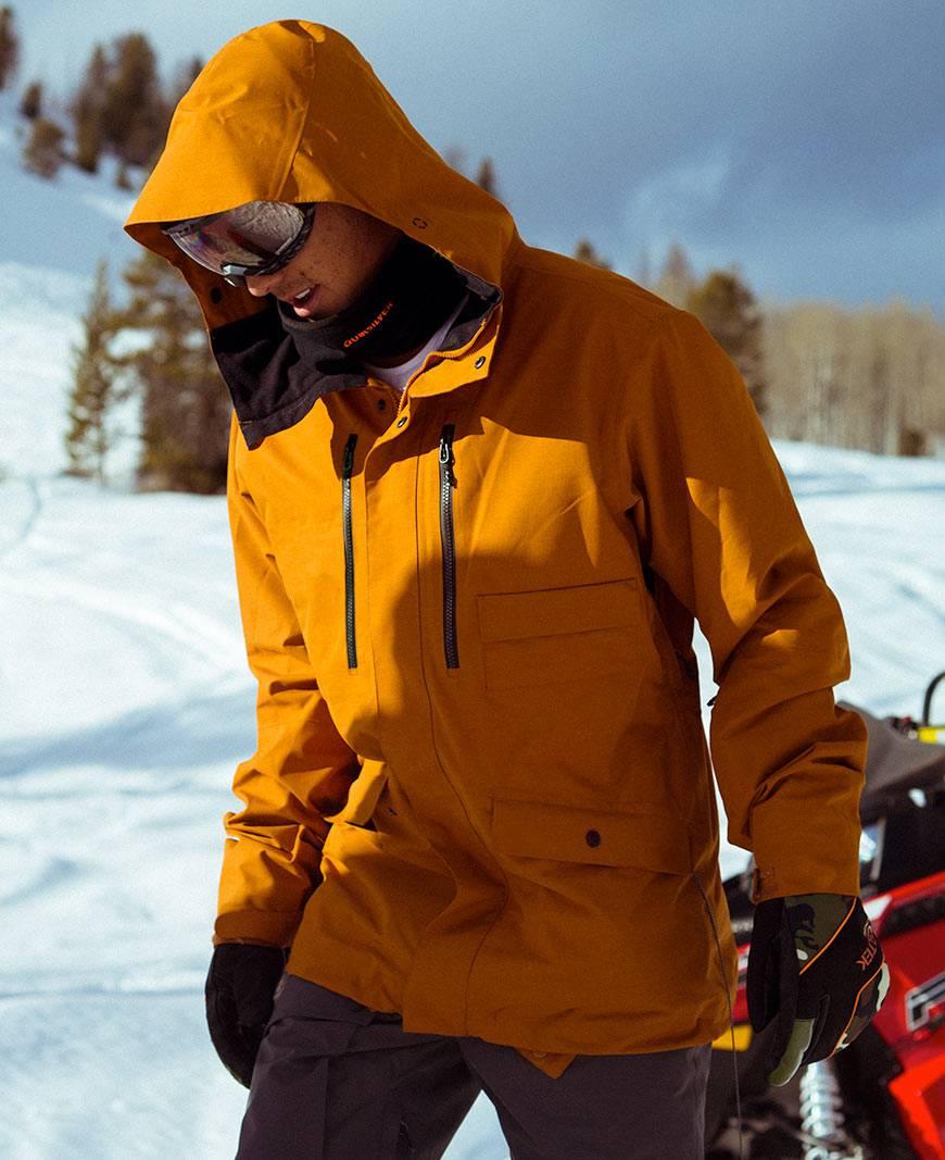 Quiksilver The Edge Boys Youth Veste de ski