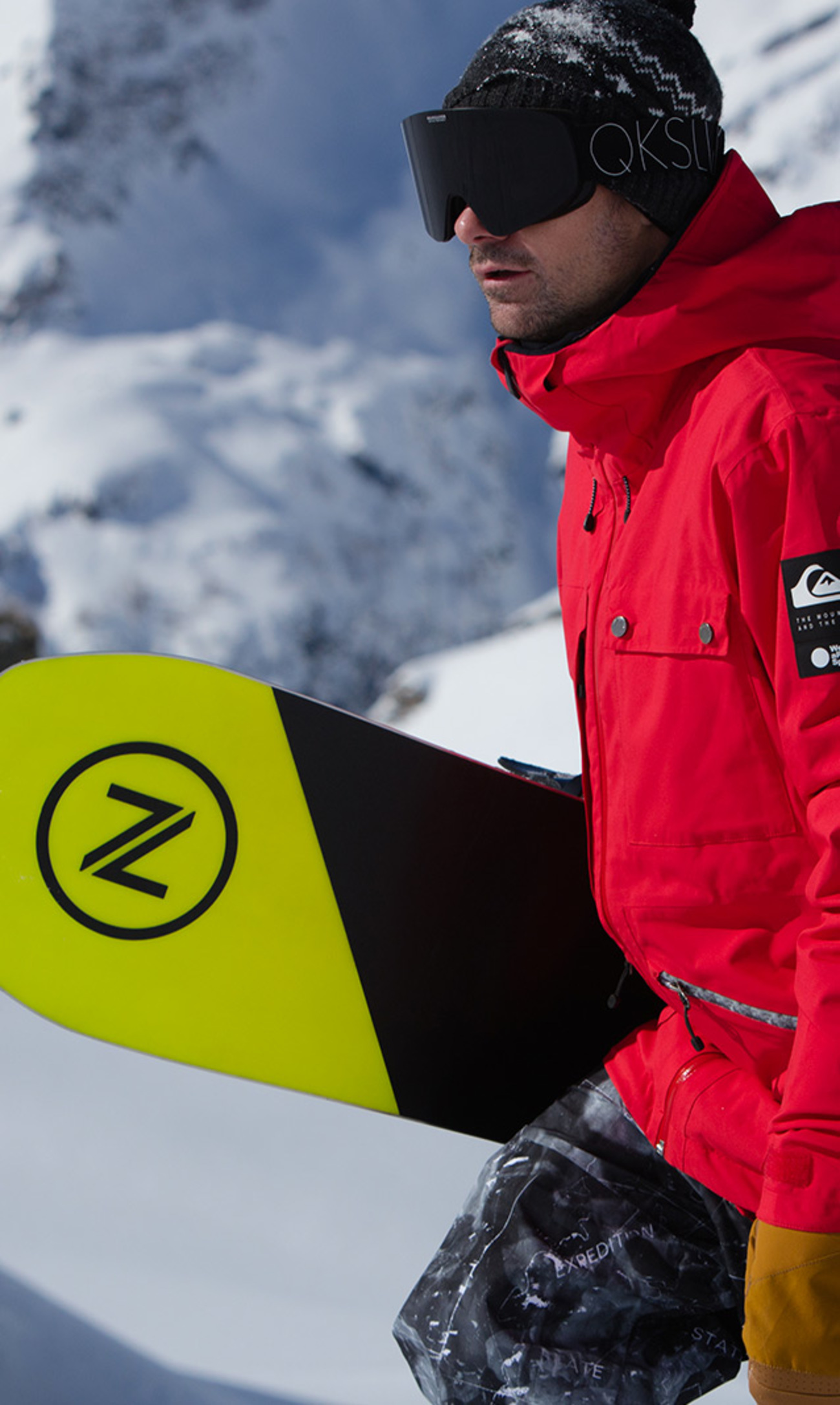 ddf773c7 Snow Higline Series - Shop the New Snowboard Jackets | Quiksilver