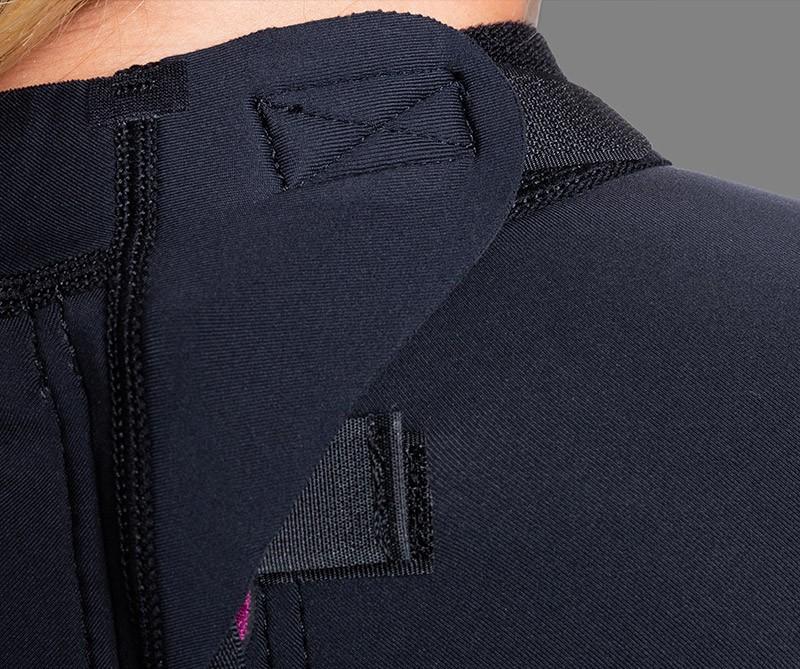 Hydrowrap Adjustable Neck Closure