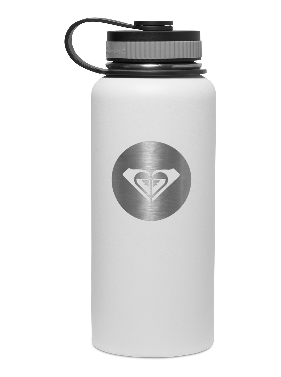 0 Hydro Flask 32 OZ Wide-Mouth White Water Bottle CW32110 Roxy 34536db62