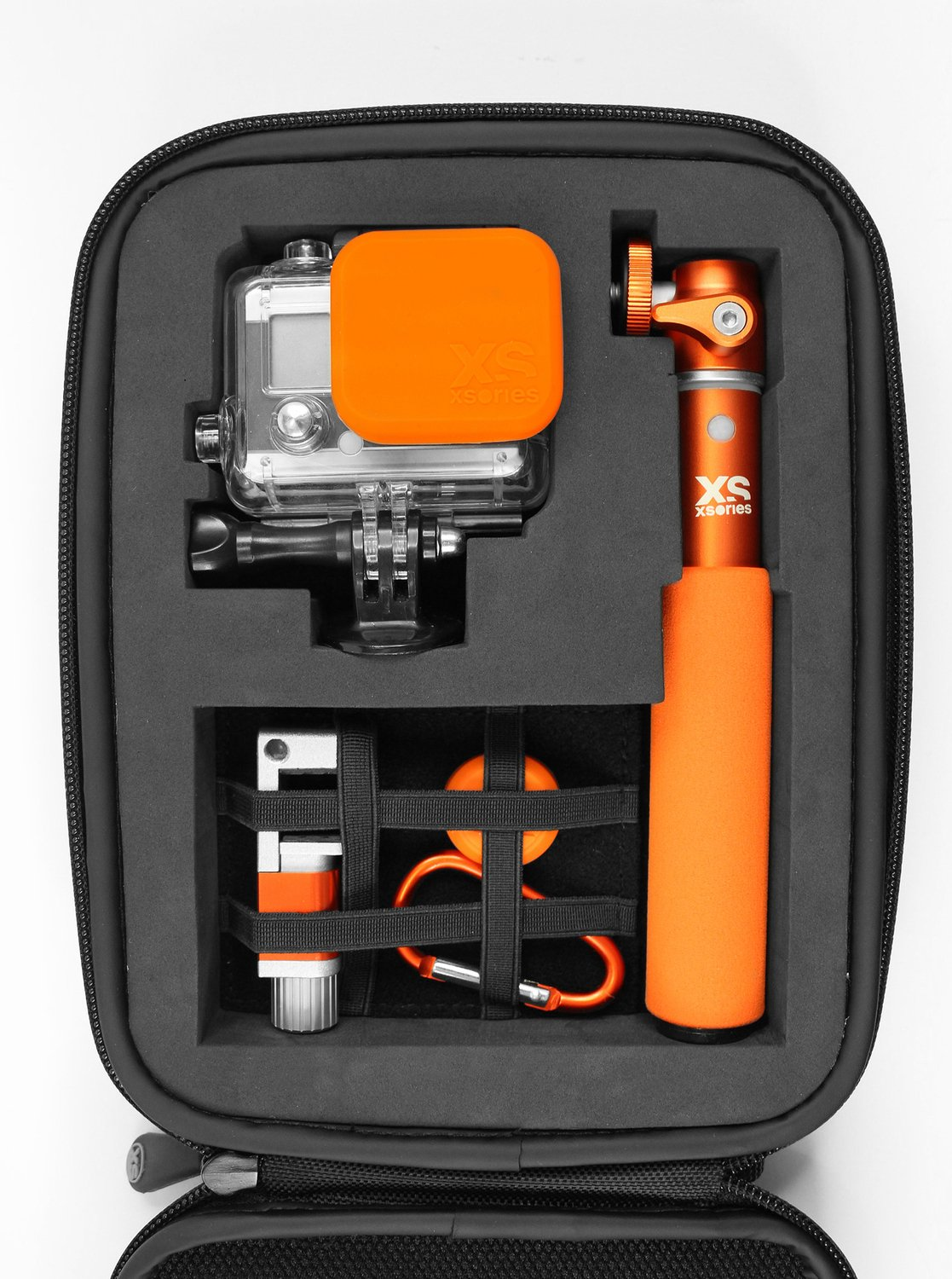 Action NEW XSories Large Capxule Soft Black Case Pre-Cut Foam GoPro Camera