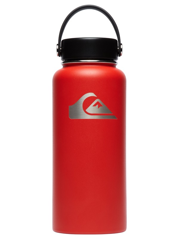 0 32 oz Wide Mouth Hydroflask® Bottle Red CW32TS611 Quiksilver