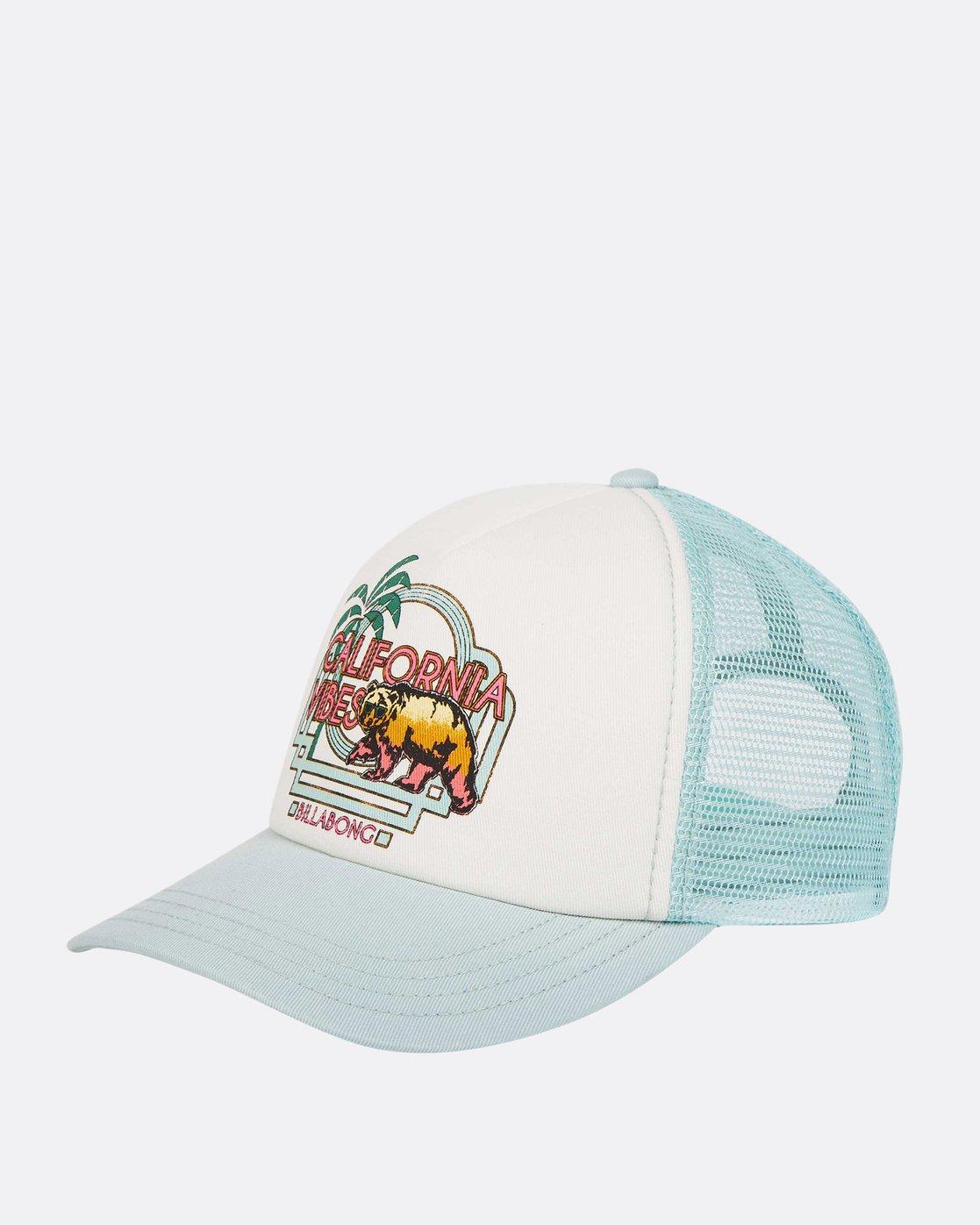39369bbc364 0 Girls  Cali Vibes Trucker Hat GAHWTBCA Billabong