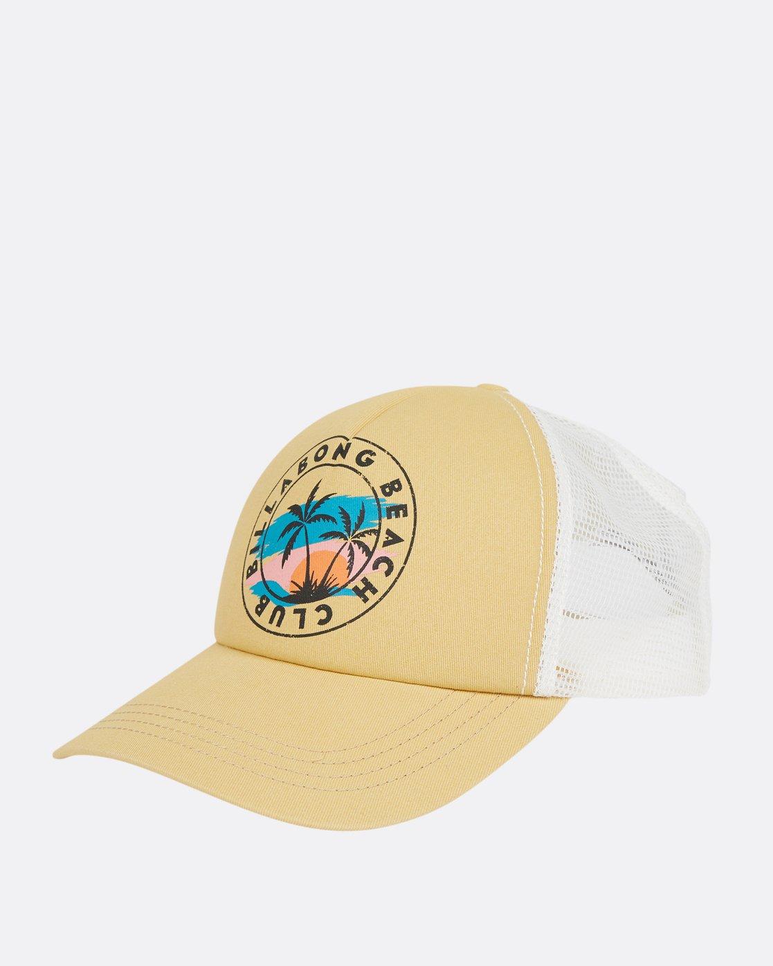 0 Aloha Forever Trucker Hat JAHWPBAL Billabong d6245bd89a4b