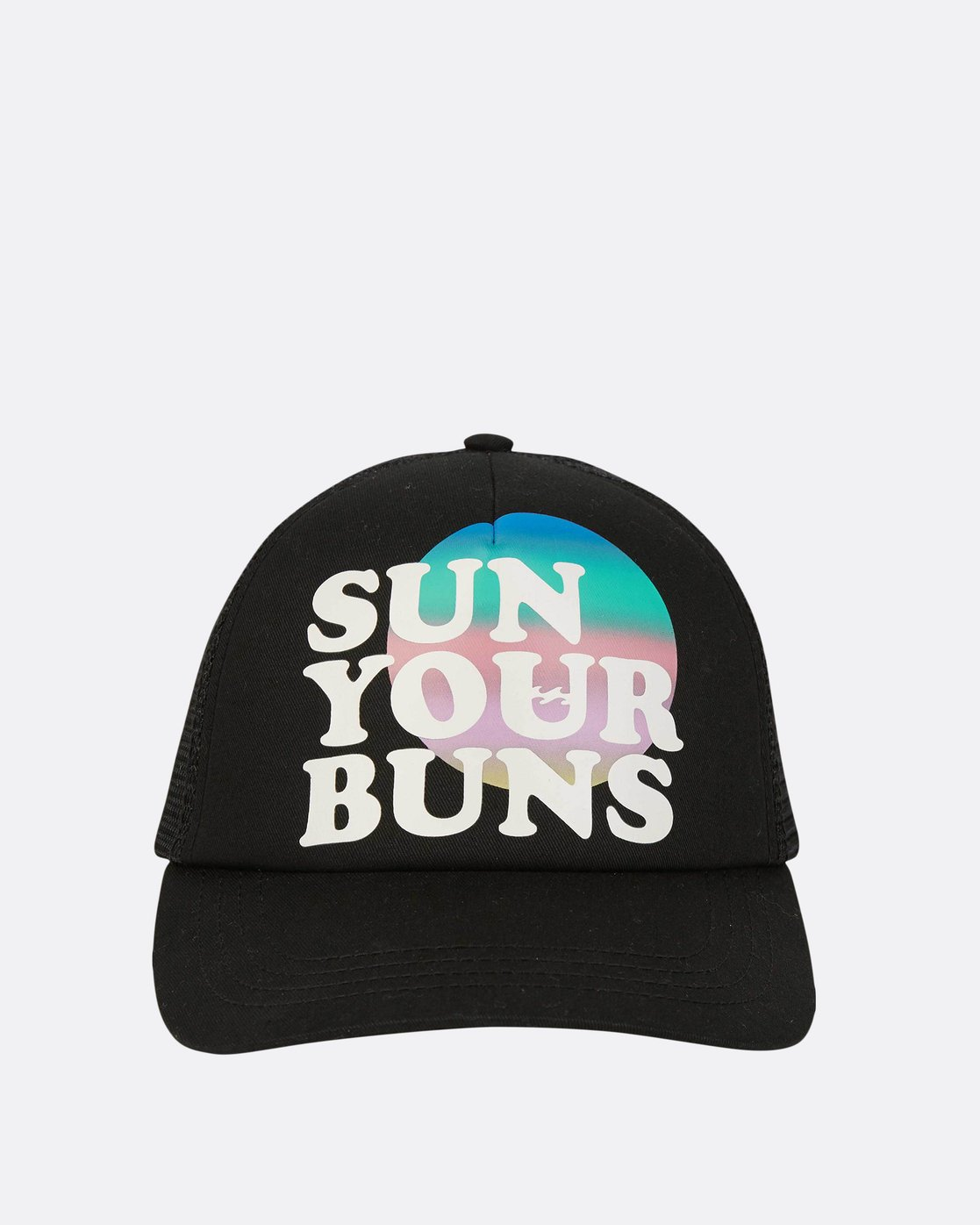 1 Sun Your Bunz Trucker Hat Black JAHWPBSU Billabong 46b5ecaddd9