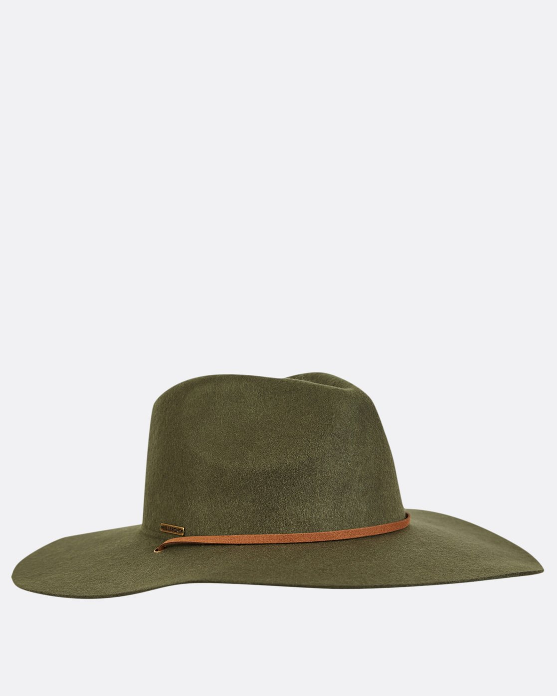 3 On The Rocks Felt Hat Green JAHWQBON Billabong 1c68d47e4f68
