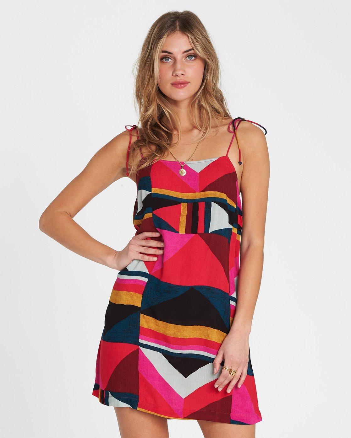 9ea9ba0300e6 Night Out Printed Mini Dress 828570194987 Billabong