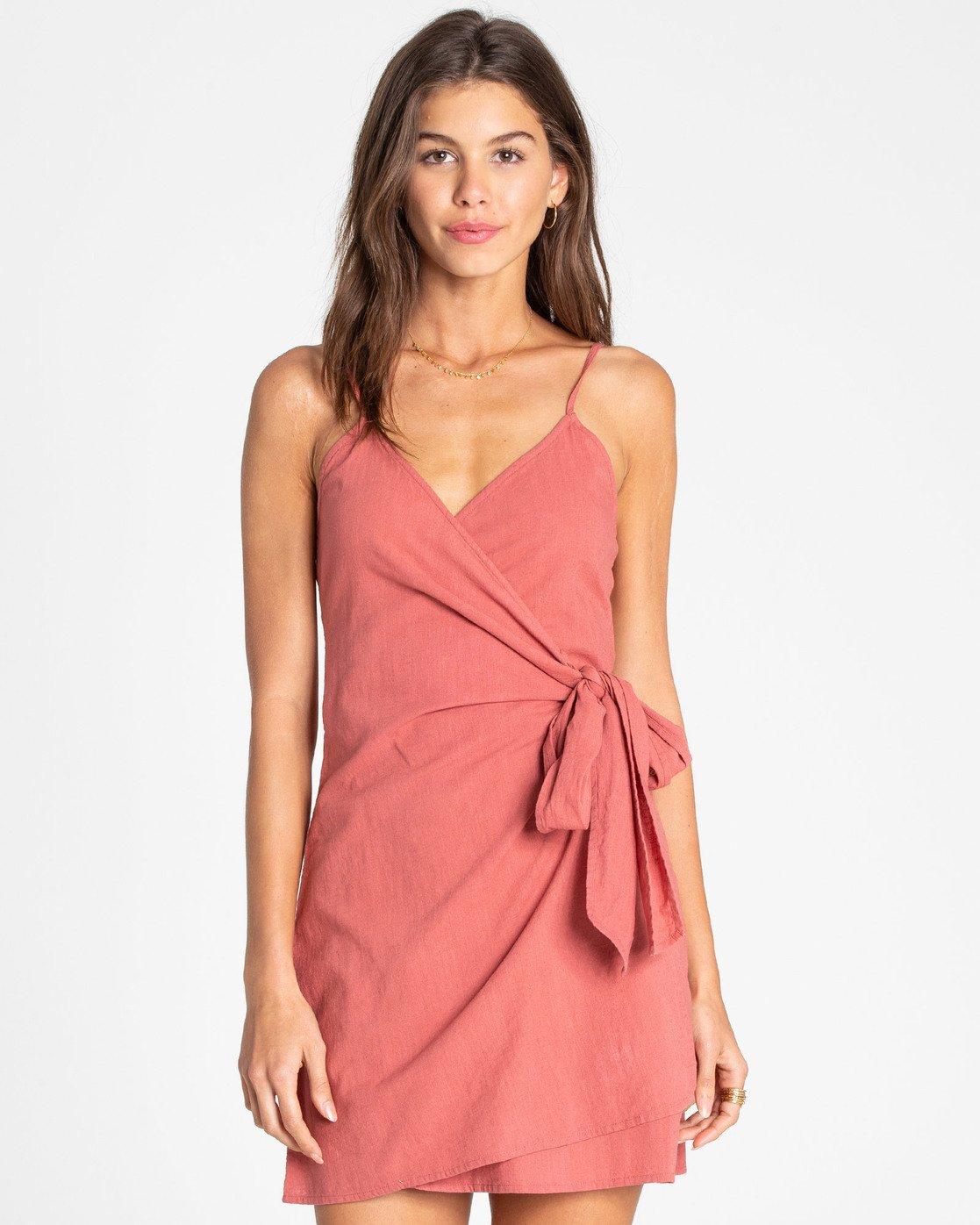 Island wrap dress