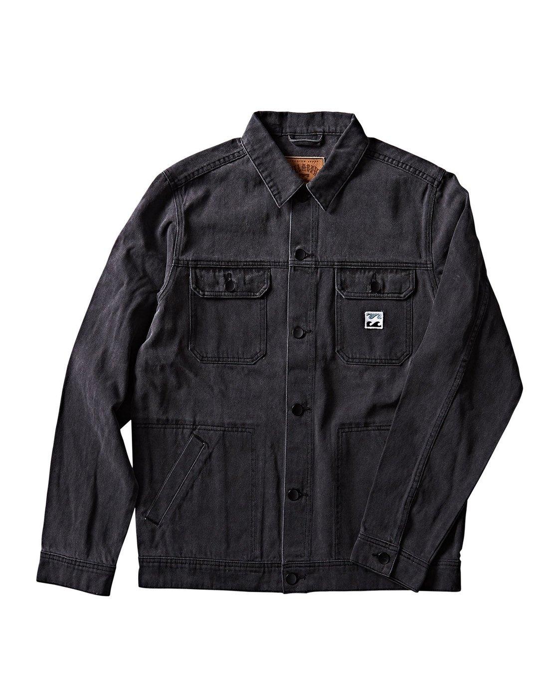 0 Revert Jacket Black M716QBRE Billabong