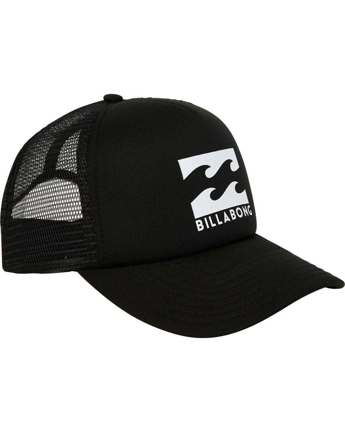 2 Podium Trucker Hat Black MAHTGPOD Billabong df2fa4e76797