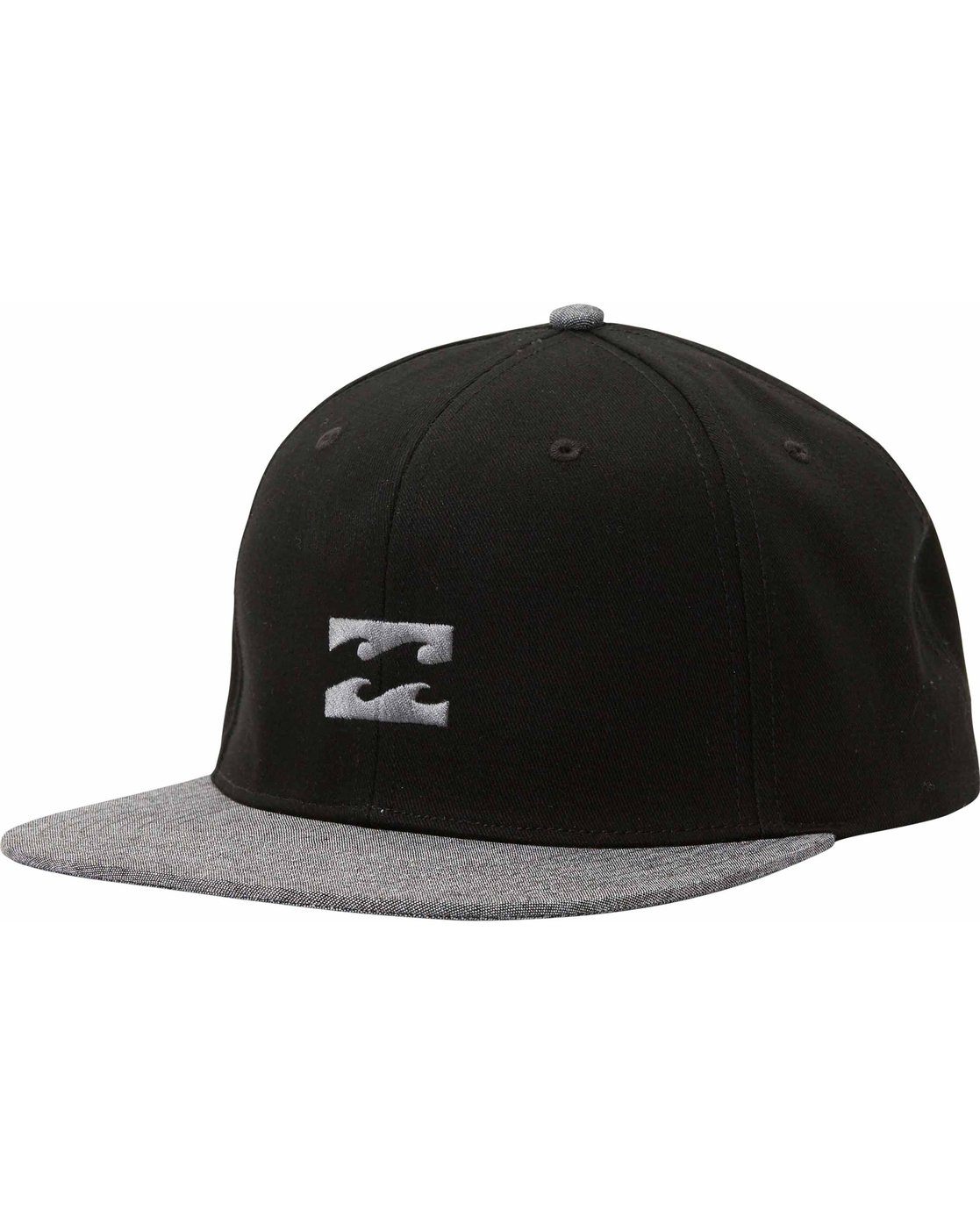 0 All Day Snapback Hat Black MAHTLADS Billabong |