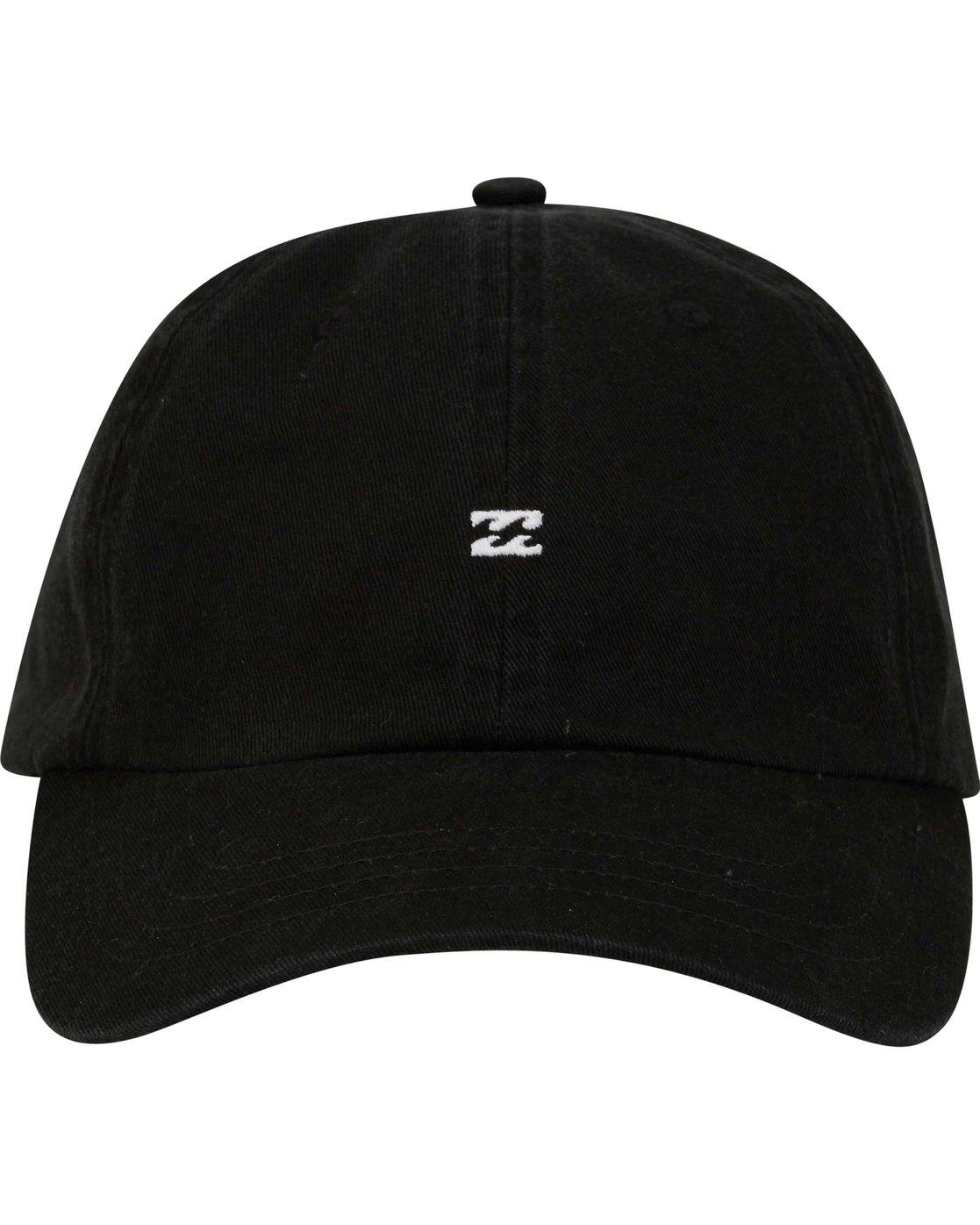 6b8cdc02c41 1 All Day Lad Hat Black MAHTMADL Billabong