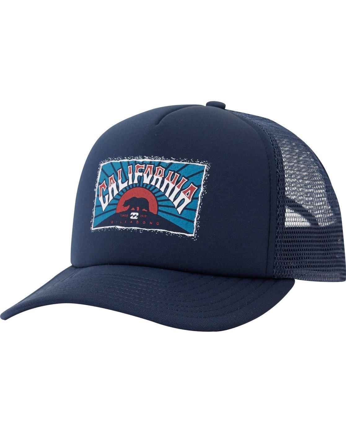 5057742c70996 0 Republic Ca Trucker Hat Blue MAHTMRCA Billabong