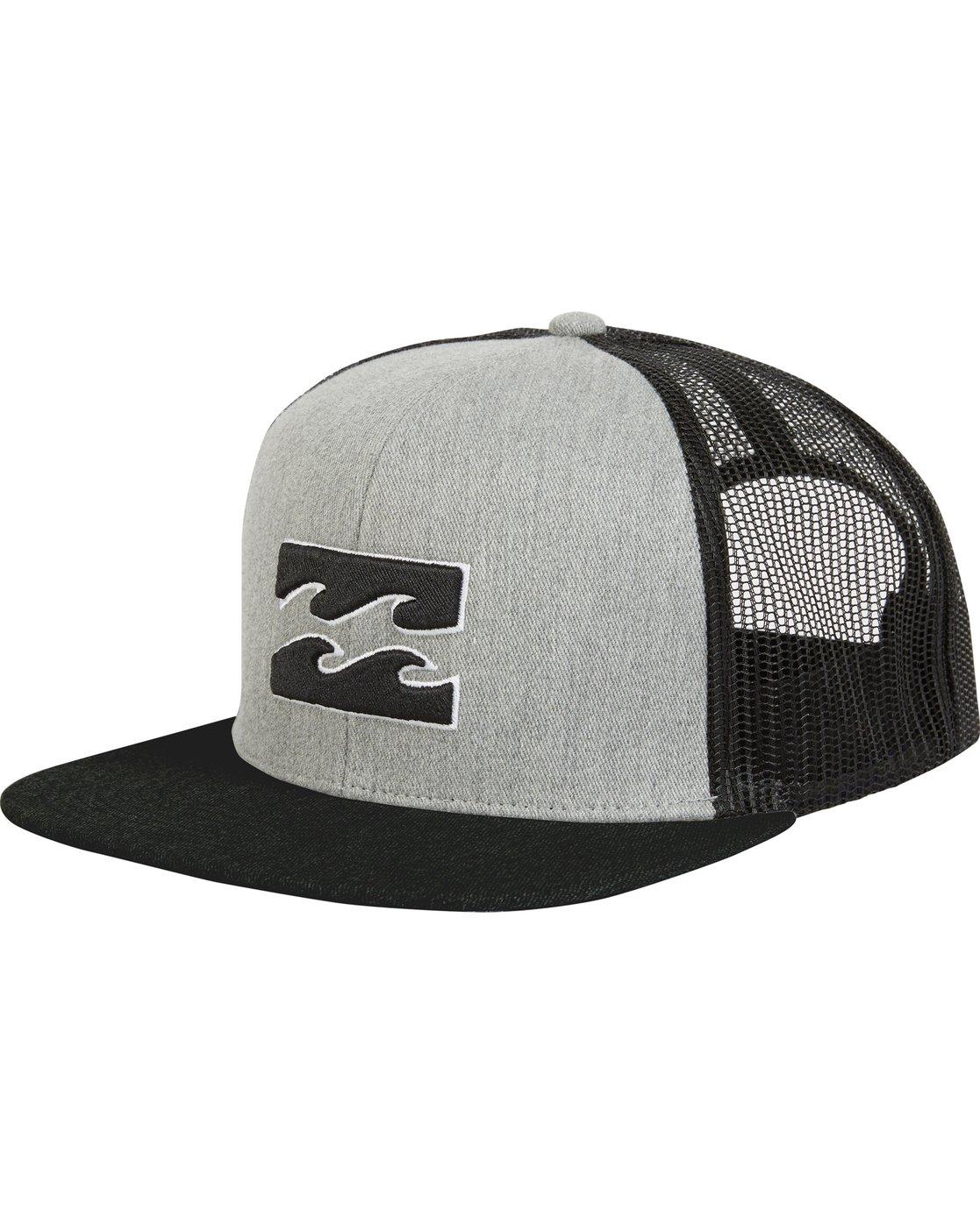 343f8fd1b8d 0 All Day Trucker Hat Grey MAHWNBAR Billabong