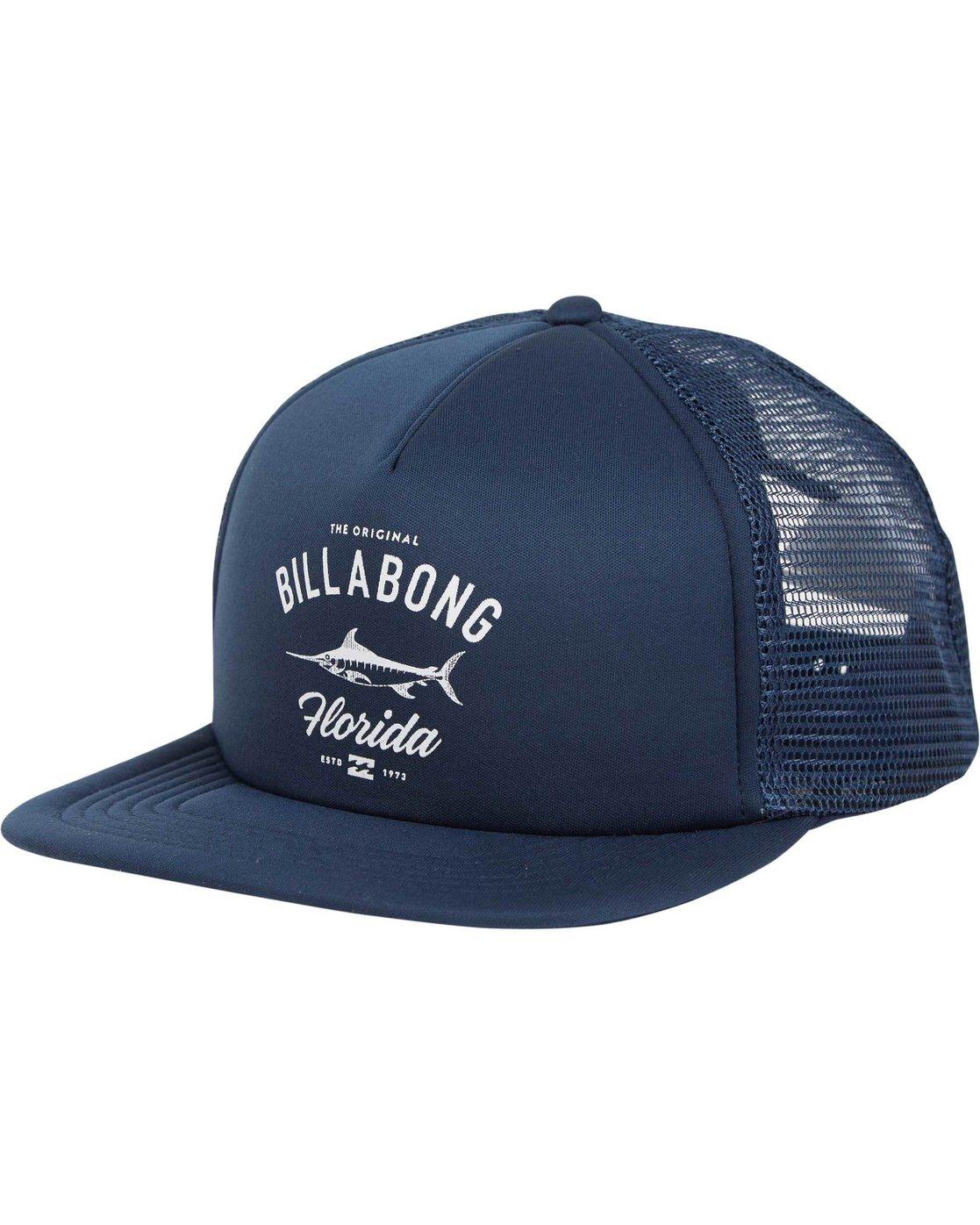 5b6fd10d145 0 Florida Trucker Hat MAHWNBFL Billabong