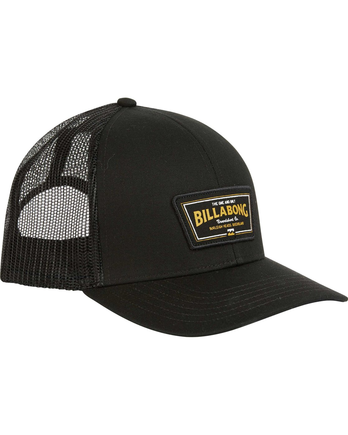 2 Walled Trucker Hat Black MAHWNBWA Billabong 59afa38c833