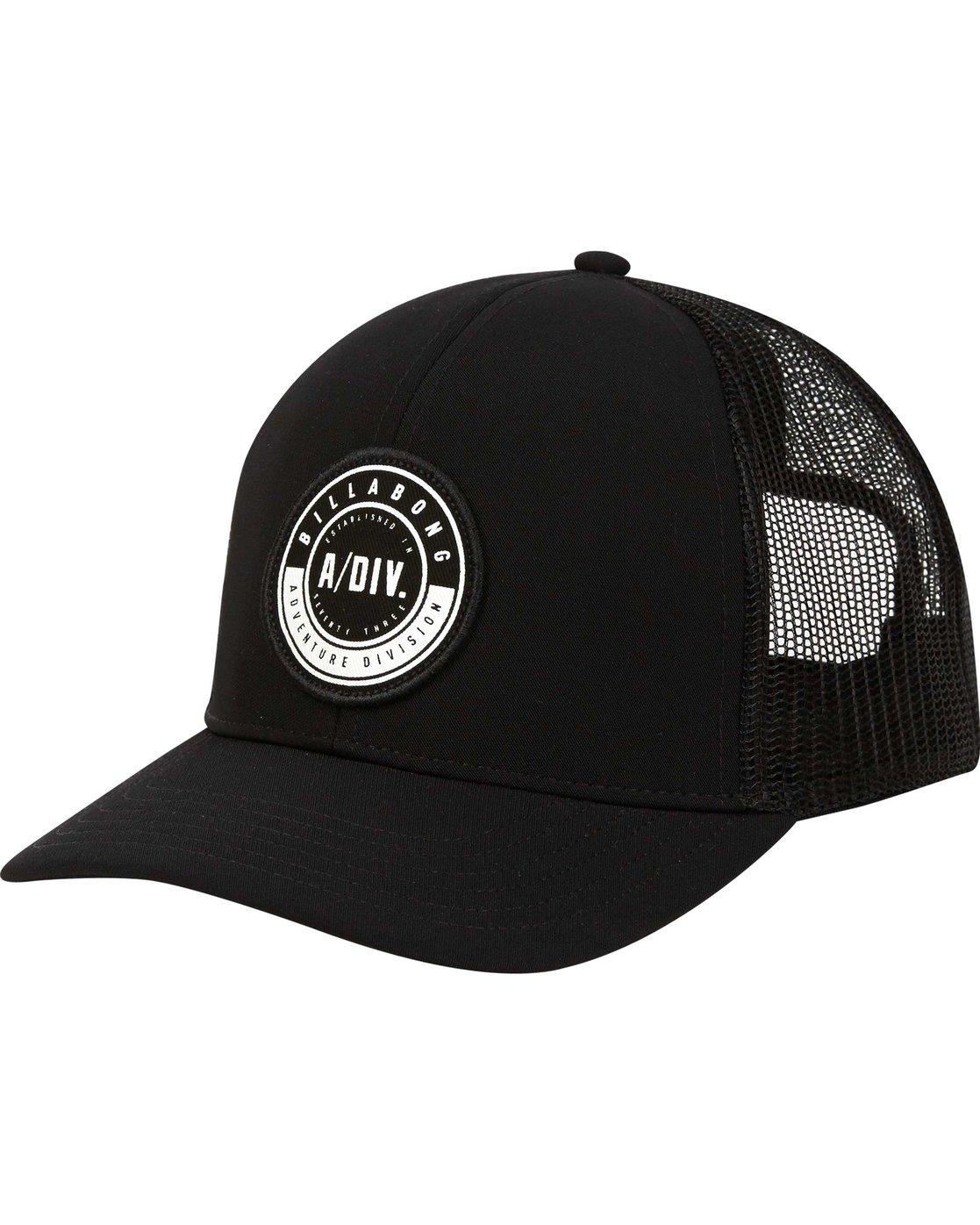 0 A Div Trucker Hat MAHWPBAD Billabong 9de425e7313