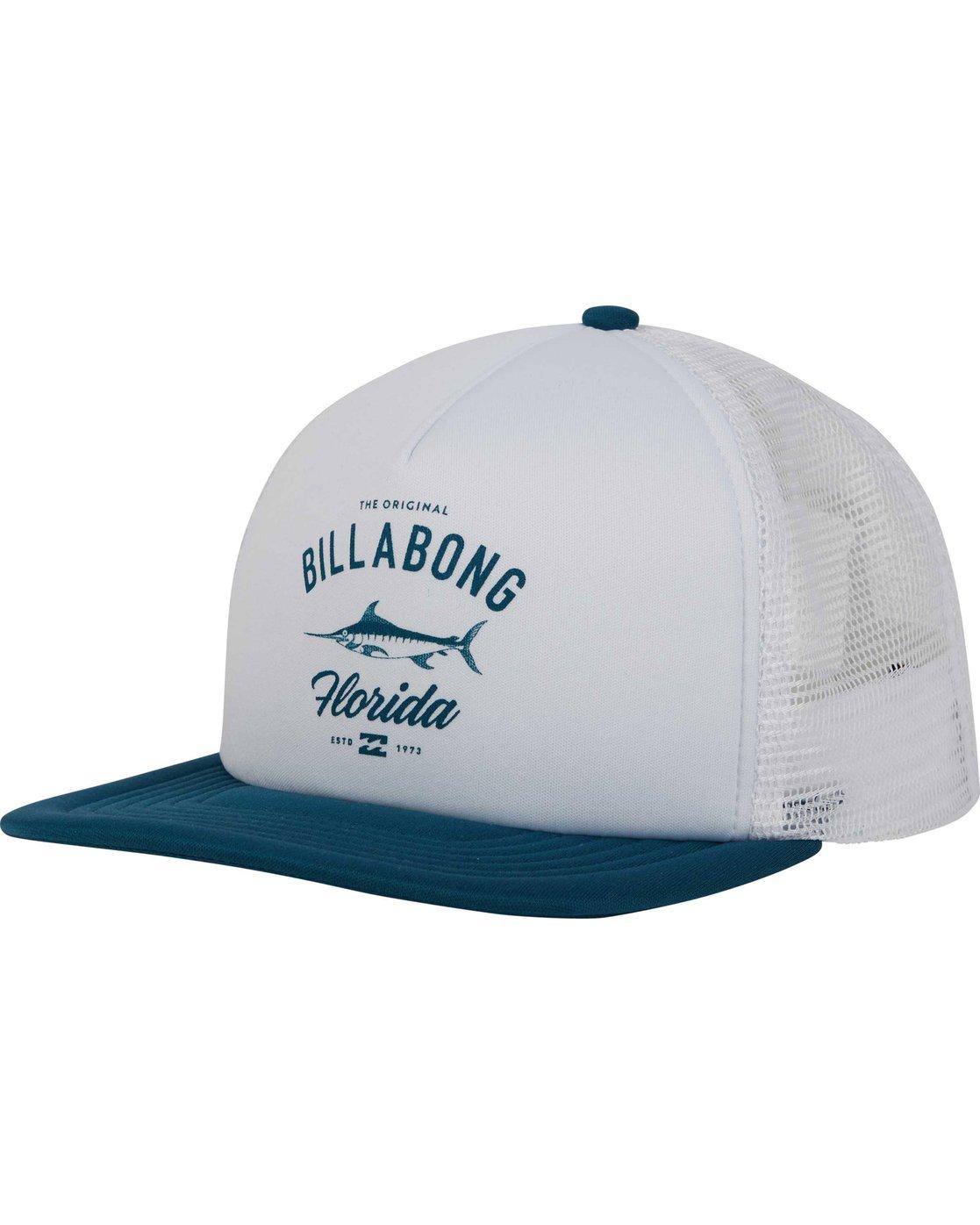 4ec15cf88dc 0 Florida Trucker Hat MAHWPBFL Billabong
