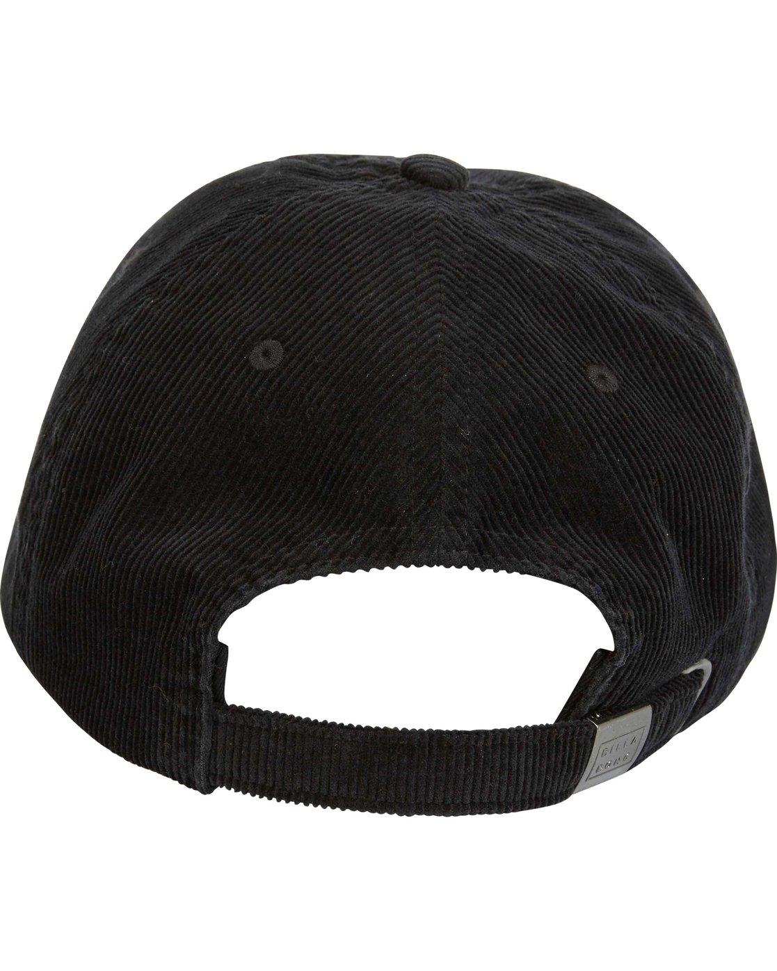 a30864042e7 4 All Day Lad Cord Cap Black MAHWQBAC Billabong