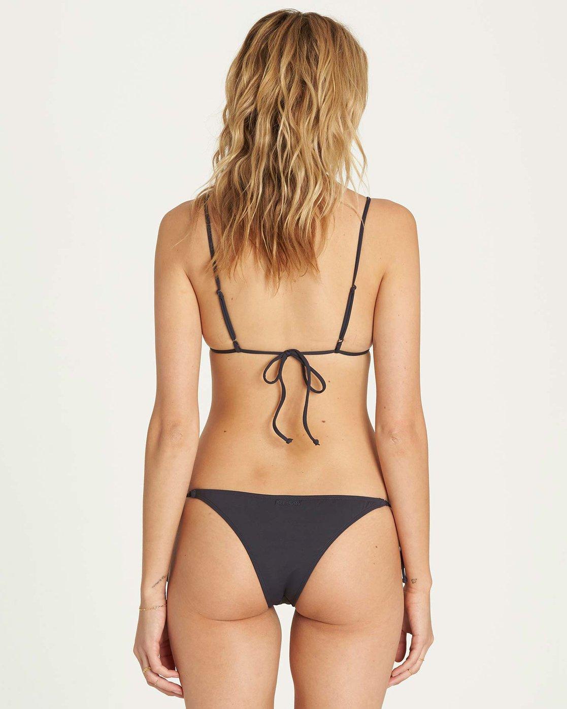 1d62eb96af 0 Sol Searcher Tie Side Isla Bikini Bottom Black XB01LSOL Billabong