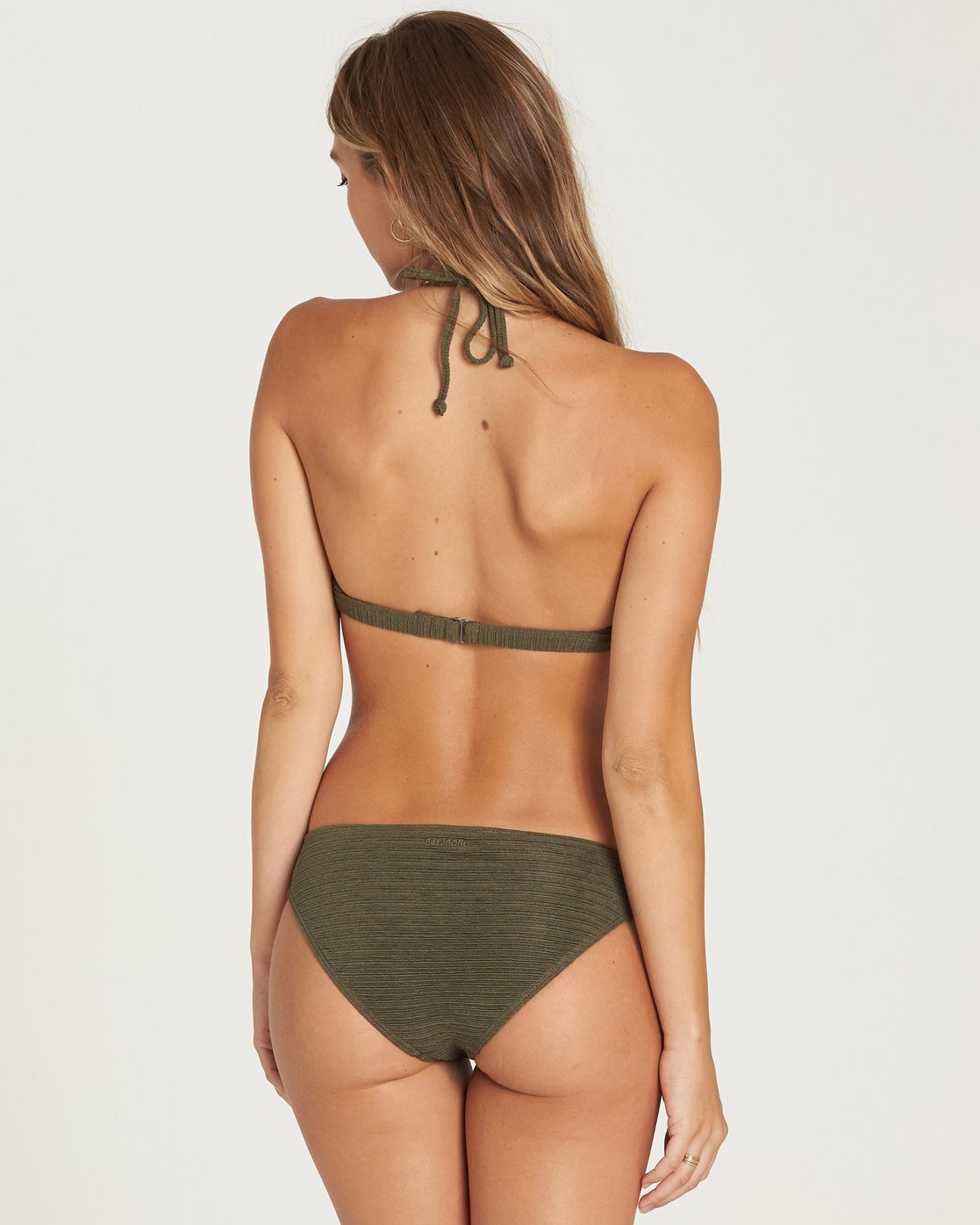 0f8af25084 0 No Hurry Lowrider Bikini Bottom Green XB20QBNO Billabong