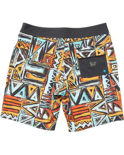 1 Boys' Sundays X Boardshorts Red B120NBSU Billabong