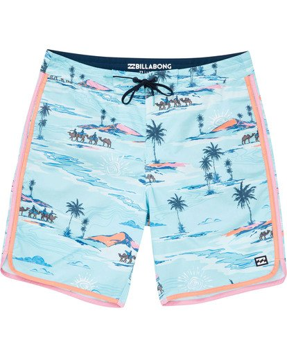 0 Boys' 73 Lineup LT Boardshorts Blue B143TBSL Billabong