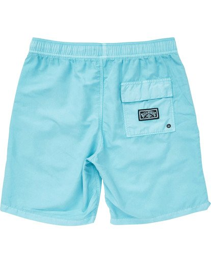 1 Boys' All Day Layback Boardshorts Blue B182TBAD Billabong