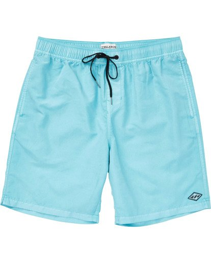 0 Boys' All Day Layback Boardshorts Blue B182TBAD Billabong