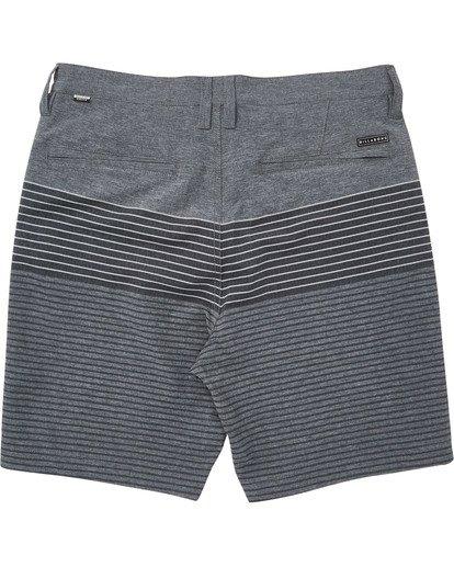 1 Boys' Crossfire X Stripe Shorts Grey B206TBCS Billabong