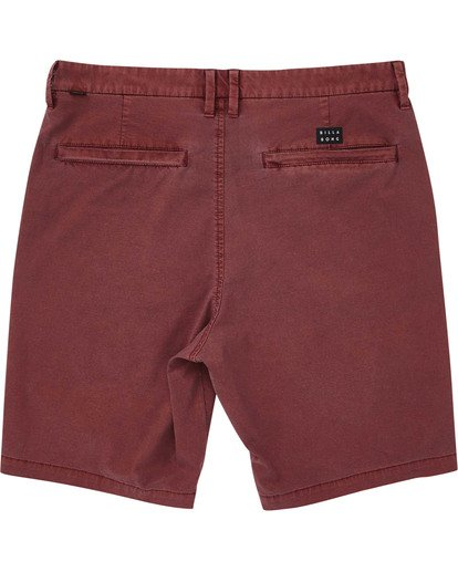 1 Boys' New Order X Overdye Shorts Red B207TBNO Billabong