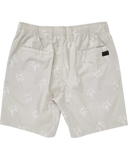 1 Boys' Larry Layback Sunday Shorts Beige B231TBLS Billabong