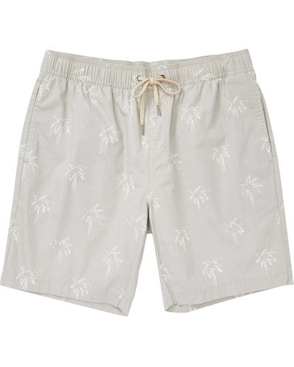 0 Boys' Larry Layback Sunday Shorts Beige B231TBLS Billabong
