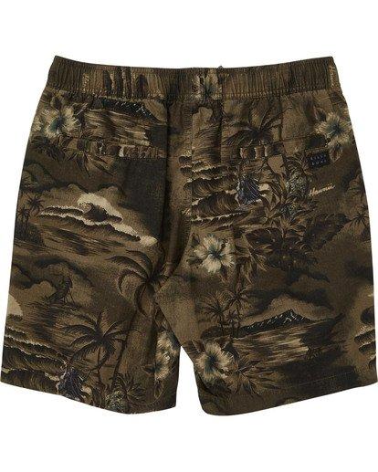 1 Boys' Larry Layback Sunday Shorts  B231TBLS Billabong