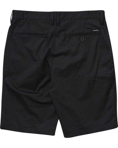 1 Boys' Carter Stretch Shorts Black B236TBCS Billabong