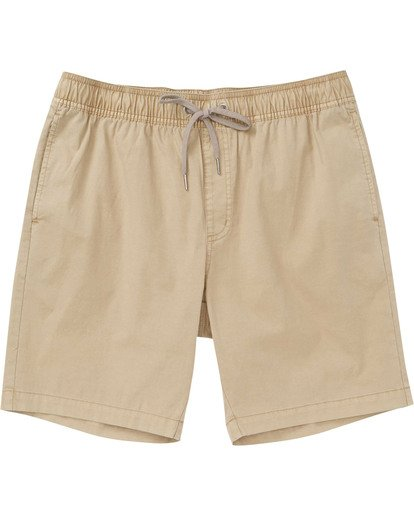 0 Boys' Larry Layback Shorts Green B239TBLL Billabong