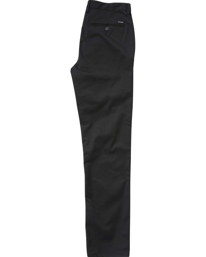 1 Boys' Carter Chino Pant Black B309LCCH Billabong