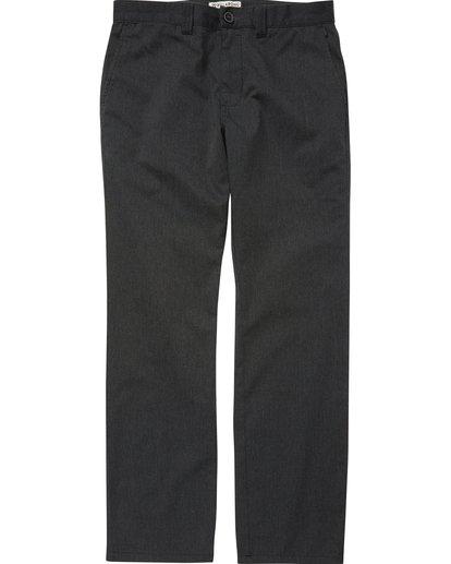 0 Boys' Carter Stretch Chino Pants Black B314QBCS Billabong