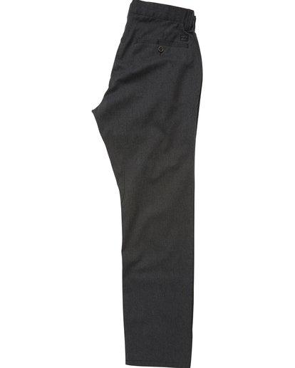 1 Boys' Carter Stretch Chino Pants Black B314QBCS Billabong
