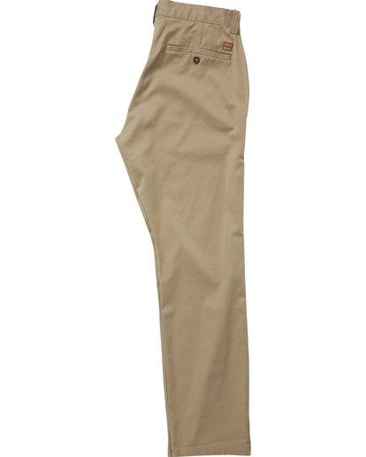 1 Boys' Carter Stretch Chino Pants Green B314QBCS Billabong