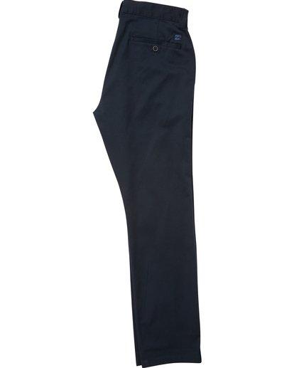 1 Boys' Carter Stretch Chino Pants Blue B314QBCS Billabong