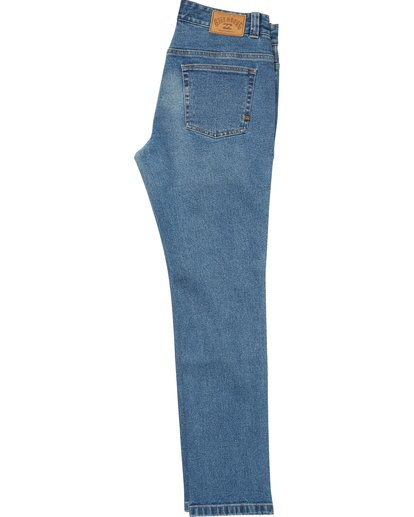 1 Boys' Outsider Jeans Blue B330QBOJ Billabong
