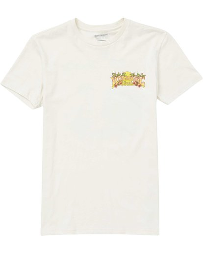 0 Boys' Gator Daze Fl Tee Brown B401QBGD Billabong