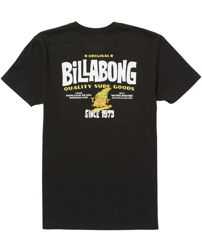 1 Boys' Grommit Tee Black B401QBGR Billabong