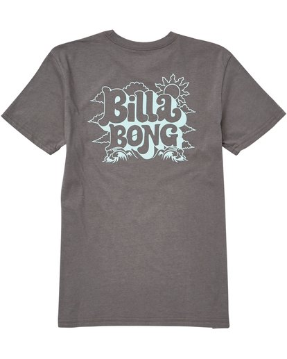 1 Boys' Groovy Tee Grey B401QBGV Billabong