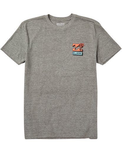 0 Boys' Bbtv Tee Shirt Grey B401SBBB Billabong